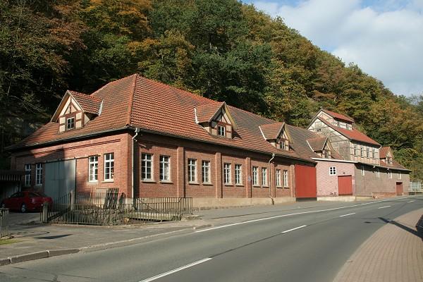 Ehemalige Spatmühle in Trusetal