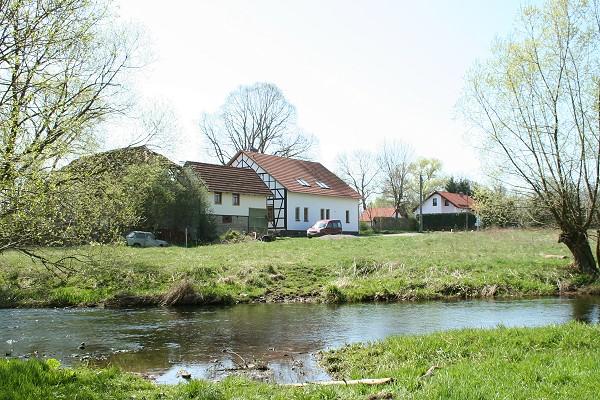 Standort der ehemaligen Kupferhütte der Fugger bei Hohenkirchen