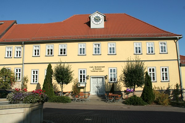 Hotel und Pension Goldener Löwe in Wechmar