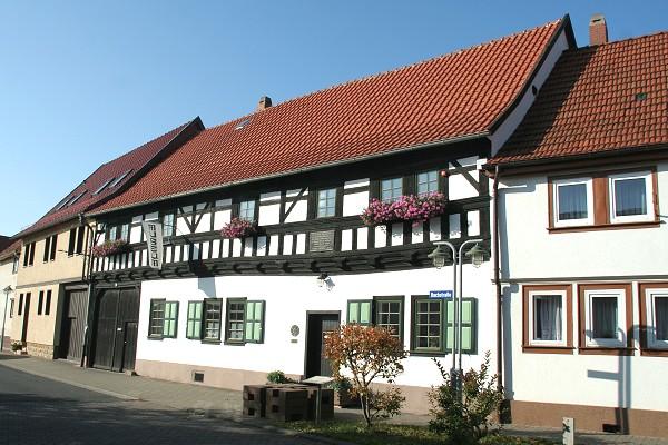 Bach-Stammhaus in Wechmar