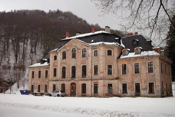 Schloss Glücksbrunn  in Schweina (erbaut 1703 als Wohnsitz der Familie Trier)