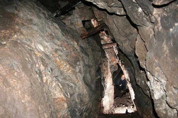 Bergwerk im Thüringer Wald