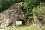 Michelsberg in Trusetal mit Eingang zum Bergwerk
