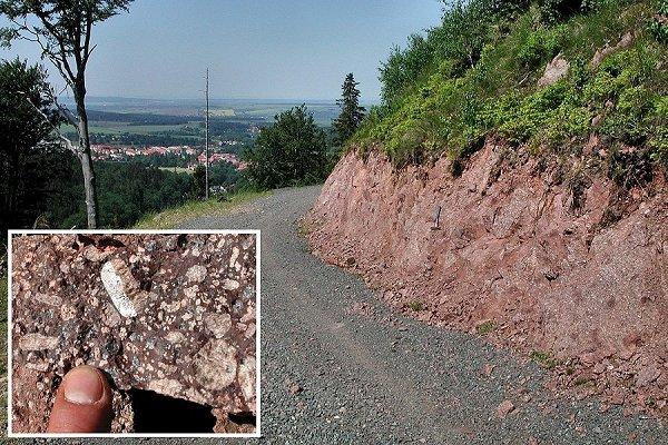 Arno-Wiemann-Weg mit Blick auf den Kurort Tabarz