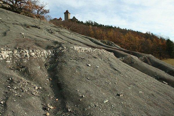 Badlands unterhalb der Wachsenburg