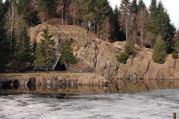 Bergsee an der Ebertswiese bei Floh-Seligenthal