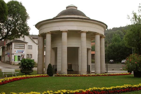 Brunnentempel in Bad Liebenstein