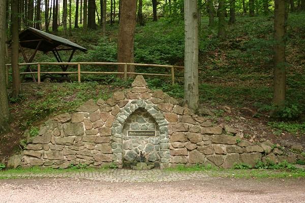Andreasbrunnen in Friedrichroda