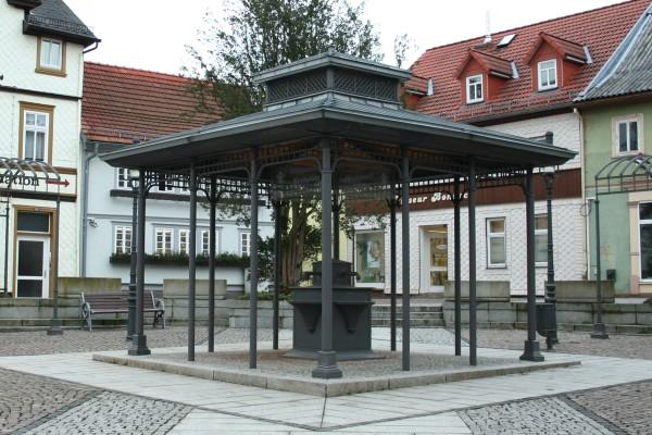 Trinkpavillon in Friedrichroda