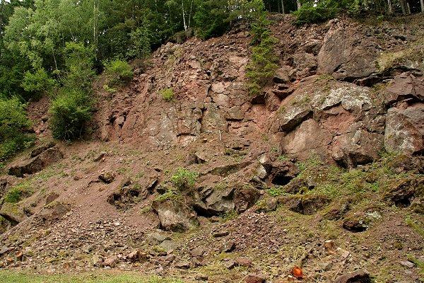 Geotop im Schlossbrunntal