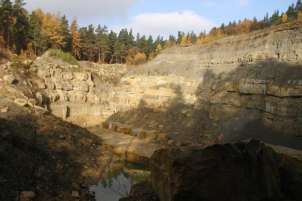 Kammerbruch auf dem Großen Seeberg bei Seebergen