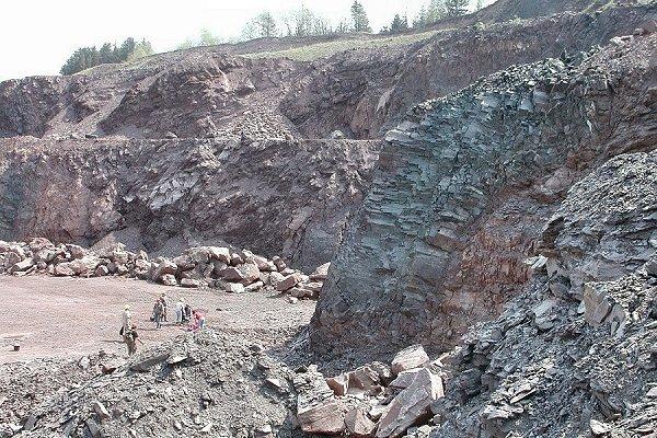 Steinbruch Tabarz