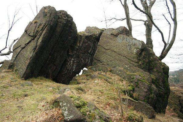 Naturdenkmal Steinernes Amt in Emsetal