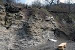 Alabasterbruch unterhalb der Wachsenburg