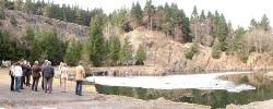 Bergsee Ebertswiese bei Floh-Seligenthal