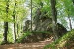 Bonifatiusfelsen im Landschaftspark Altenstein