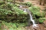 Schilfwasser-Wasserfall