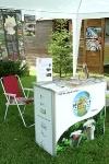 Geopark-Stand zum Naturparkfest am 04.09.2010 am Kloster Veßra