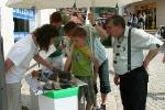 GeoPark-Stand zum Naturpark- und Stadtfest in Ruhla im Juni 2007