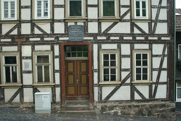 Geburtshaus des Komponisten Friedrich Lux in Ruhla