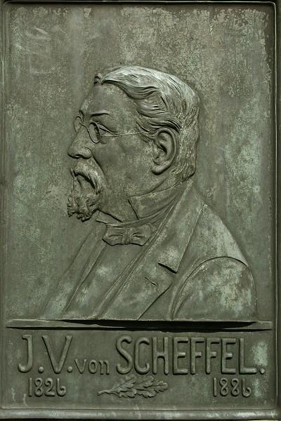 Der Schriftsteller und Dichters Joseph Victor von Scheffel