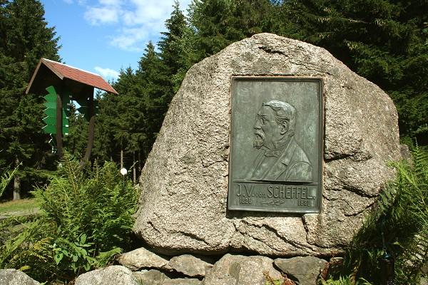 Denkmal des Schriftstellers und Dichters Joseph Victor von Scheffel