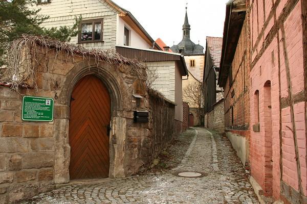 Historischer Ortskern von Mühlberg