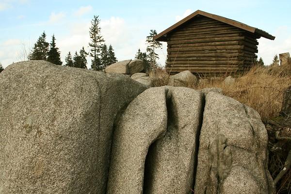 Ruhlaer Granit am Glöckner/ Rennsteig