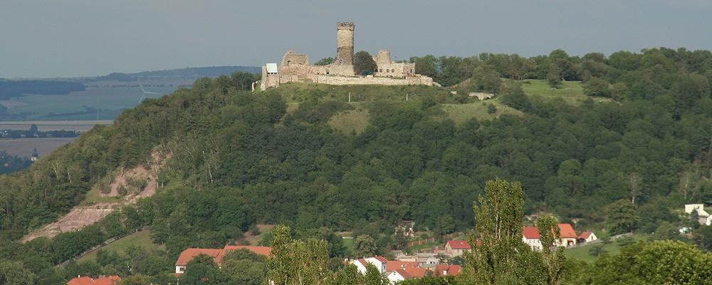 Mühlburg mit Badlands