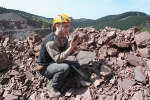GeoPark-Geologe Stephan Brauner