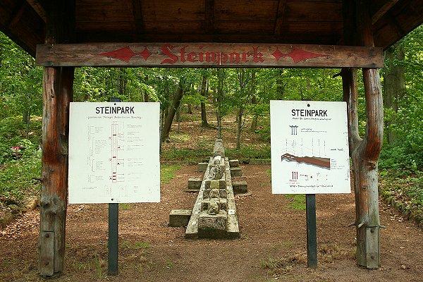 Steinpark in Tabarz