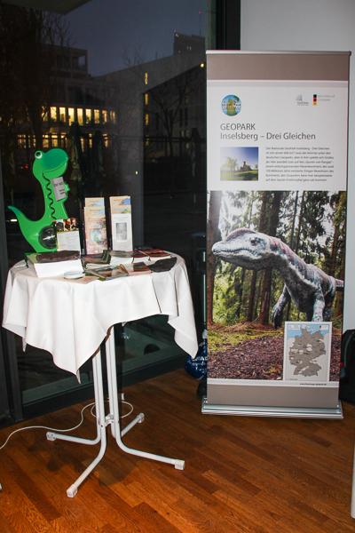 Präsentation des Nationalen GeoPark Thüringen Inselsberg - Drei Gleichen