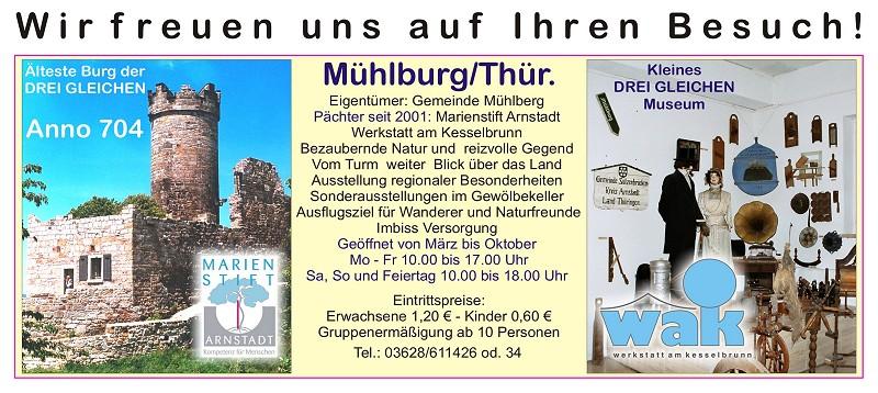 Informationen zur Mühlburg