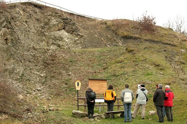 Vertreter der Zertifizierungskommission am 29.01.2008 im Geopark