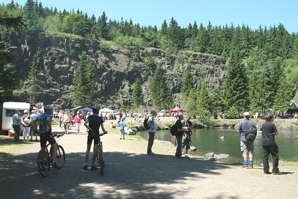 Traditionelles Bergseefest auf der Ebertswiese am 27.06.2010
