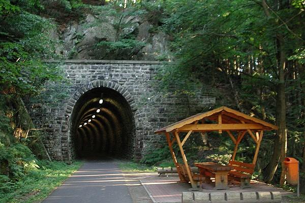 Mommelstein-Radweg bei Kleinschmalkalden