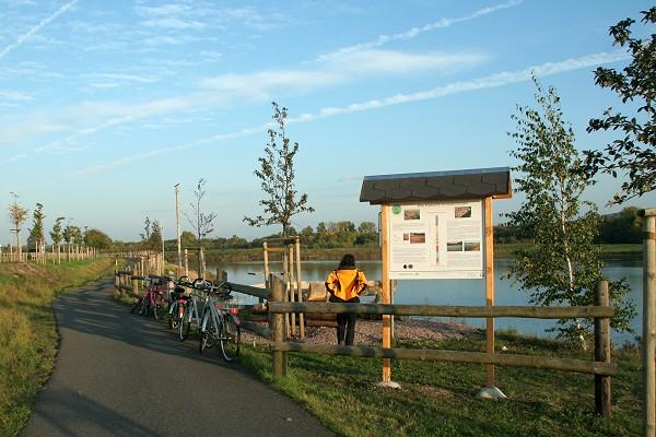 Apfelstädt-Radweg bei Schwabhausen