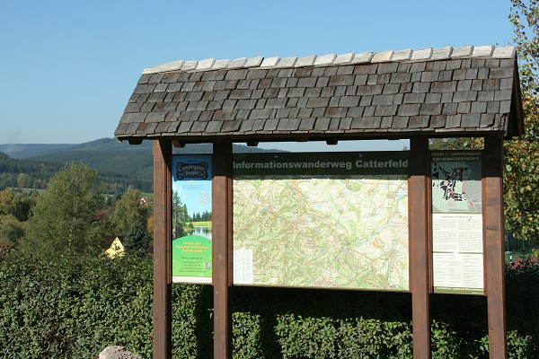 Wanderweg Catterfeld