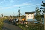Schautafel Kieswerk am Apfelstädt-Radweg bei Schwabhausen